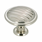 Richelieu - Contemporary Metal Knob - 169 - BP16930195 - Brushed Nickel - 195