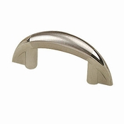 Richelieu - Contemporary Metal Pull - 252 - 25232140195 - Chrome / Brushed Nickel - 140 - 195
