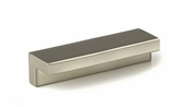 Richelieu - Contemporary Metal Pull - 6466 - BP64664195 - Brushed Nickel - 195