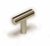 Richelieu - Contemporary Steel Knob - 305 - BP30540195 - Brushed Nickel - 195
