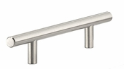 Richelieu - Contemporary Steel Pull - 305 - BP305108195 - Brushed Nickel - 195