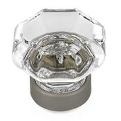 Richelieu - Eclectic Crystal and Metal Knob - 1007 - 1007418411 - Clear / Matte Nickel - 11 - 184