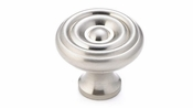 Richelieu - Traditional Brass Knob - 1430 - BP1430195 - Brushed Nickel - 195