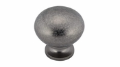 Richelieu - Traditional Brass Knob - 4923 - BP4923142 - Pewter - 142
