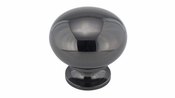 Richelieu - Traditional Brass Knob - 4923 - BP492391 - Black Nickel - 91