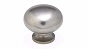 Richelieu - Traditional Metal Knob - 4923 - BP492338142 - Pewter - 142