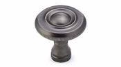 Richelieu - Traditional Metal Knob - 7403 - BP74032143 - Antique Nickel - 143