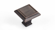 Richelieu - Traditional Metal Knob - 7753 - BP77535BORB - Brushed Oil-Rubbed Bronze - BORB
