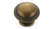 Richelieu - Traditional Metal Knob - 9283 - BP92830R3 - Regency Brass - R3