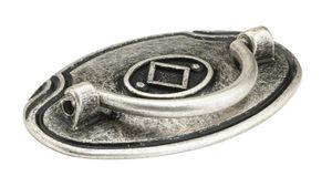 Richelieu - Traditional Metal Pull - 5376 - BP53764139 - Old Silver - 139