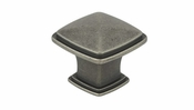 Richelieu - Transitional Metal Knob - 810 - BP81091142 - Pewter - 142