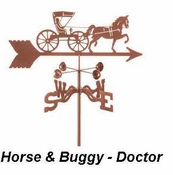 Royal Crowne - Windcup Collection - Horse & Buggy - Doctor