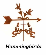 Royal Crowne - Windcup Collection - Hummingbirds