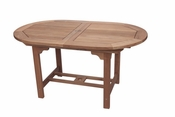 Royal Teak - 60 Inch Family Expansion Table Oval - FEO6