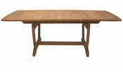 Royal Teak - 64 Inch Gala Expansion Table Double Leaf - GALA64