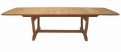 Royal Teak - 84 Inch Gala Expansion Table Double Leaf - GALA84
