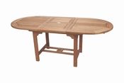 Royal Teak - 96 Inch Family Expansion Table Oval - FEO10