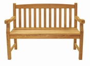 Royal Teak - Classic Two-Seater Bench - CC2S