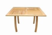 Royal Teak - Dolphin Table 50 Inch Square - DP50S