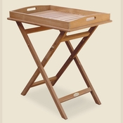 Royal Teak - Tray on Stand - TRST