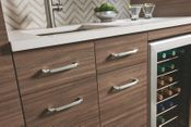 Top Knobs - Grace Collection - Pomander Pull 6 5/16 Inch - Brushed Satin Nickel - TK1033BSN