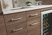 Top Knobs - Grace Collection - Pomander Pull 8 13/16 Inch - Brushed Satin Nickel - TK1035BSN