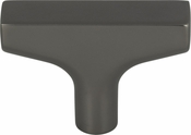 Top Knobs - Grace Collection - Riverside T-Knob 2 Inch - Ash Gray - TK1010AG
