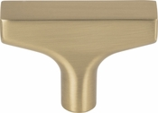 Top Knobs - Grace Collection - Riverside T-Knob 2 Inch - Honey Bronze - TK1010HB