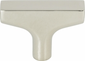 Top Knobs - Grace Collection - Riverside T-Knob 2 Inch - Polished Nickel - TK1010PN