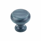 Top Knobs - Somerset II Collection - Flat Faced Knob 1 1/4 Inch - Verdigris - m274