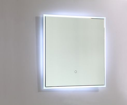 Vanity Art - Bathroom Mirror - VA56 - White