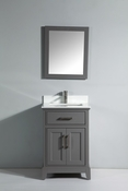 Vanity Art - Bathroom Vanity Set - VA1024G - Grey