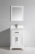 Vanity Art - Bathroom Vanity Set - VA1024W - White