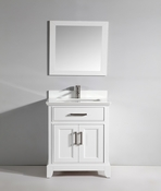 Vanity Art - Bathroom Vanity Set - VA1030-W - White