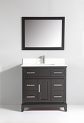 Vanity Art - Bathroom Vanity Set - VA1036-E - Espresso