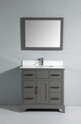 Vanity Art - Bathroom Vanity Set - VA1036-G - Grey