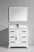 Vanity Art - Bathroom Vanity Set - VA1036-W - White