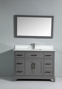 Vanity Art - Bathroom Vanity Set - VA1048-G - Grey