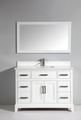 Vanity Art - Bathroom Vanity Set - VA1048-W - White