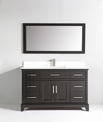 Vanity Art - Bathroom Vanity Set - VA1060-E - Espresso