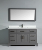 Vanity Art - Bathroom Vanity Set - VA1060-G - Grey
