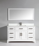 Vanity Art - Bathroom Vanity Set - VA1060-W - White
