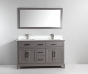 Vanity Art - Bathroom Vanity Set - VA1060DG - Grey