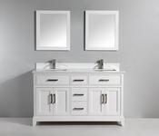 Vanity Art - Bathroom Vanity Set - VA1072DW - White