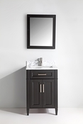 Vanity Art - Bathroom Vanity Set - VA2024-E - Espresso