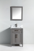 Vanity Art - Bathroom Vanity Set - VA2024-G - Grey