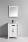 Vanity Art - Bathroom Vanity Set - VA2024-W - White