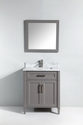 Vanity Art - Bathroom Vanity Set - VA2030-G - Grey