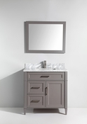 Vanity Art - Bathroom Vanity Set - VA2036-G - Grey