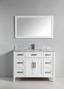 Vanity Art - Bathroom Vanity Set - VA2048-W - White